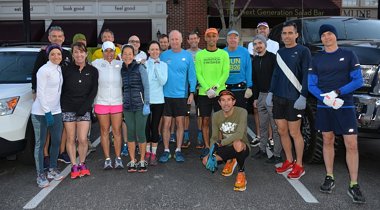 TWRC Sunday Group Run 4-15-18