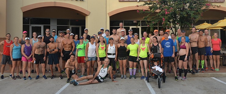 TWRC Sunday Group Run 7-23-17